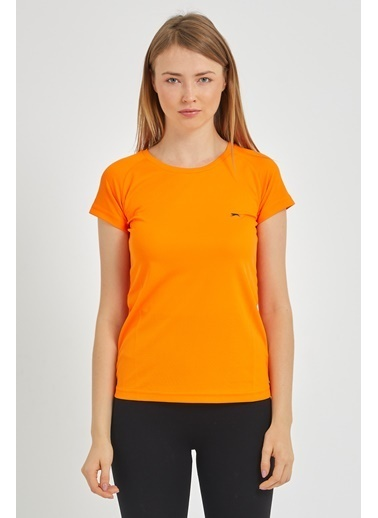 Slazenger Slazenger RELAX Kadın T-Shirt Turuncu Oranj